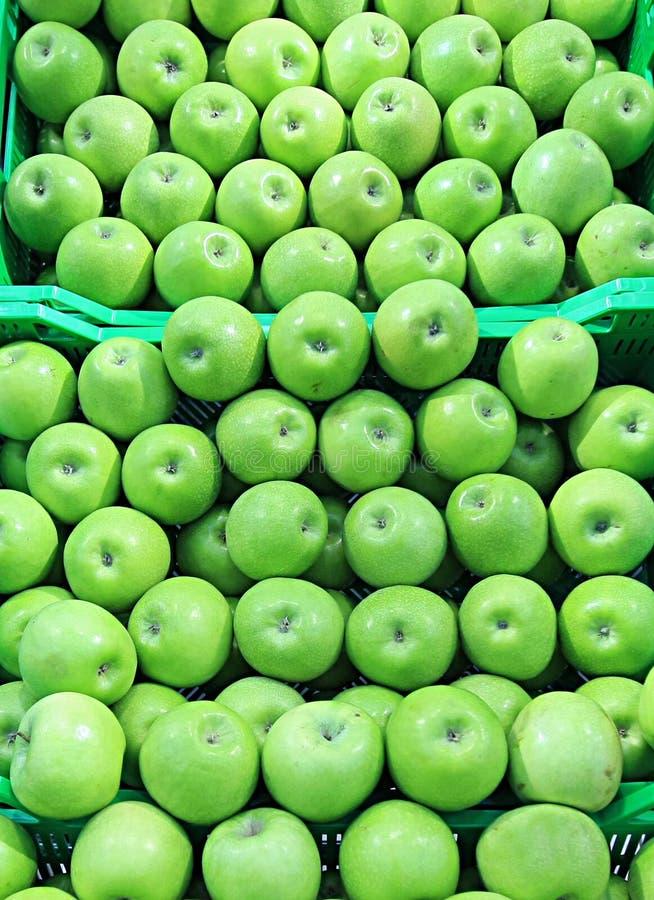 Apple am Markt eines Landwirts stockfotografie