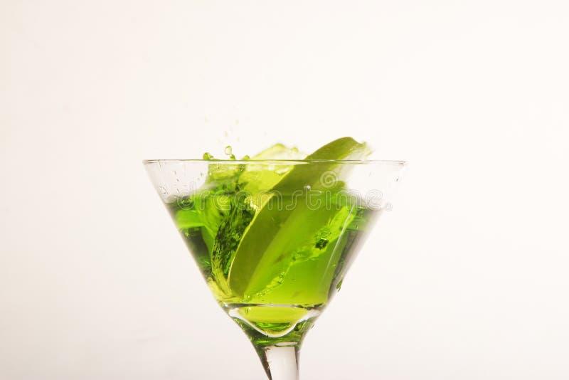 Apple Martini foto de archivo libre de regalías