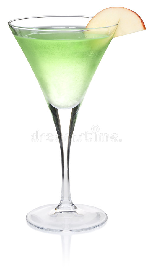 Apple Martini imagem de stock royalty free