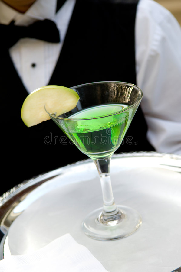 Free Apple Martini Drink Stock Images - 4298994