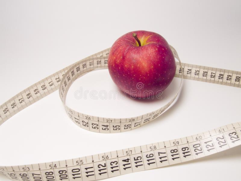 Apple And Meter Stock Images