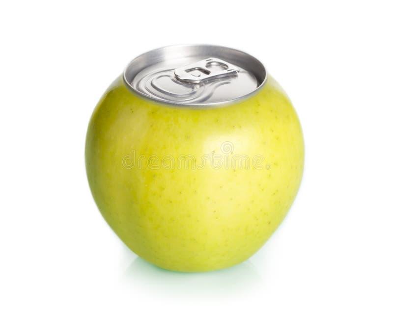 Apple mettent en boîte le jus, concept. images stock