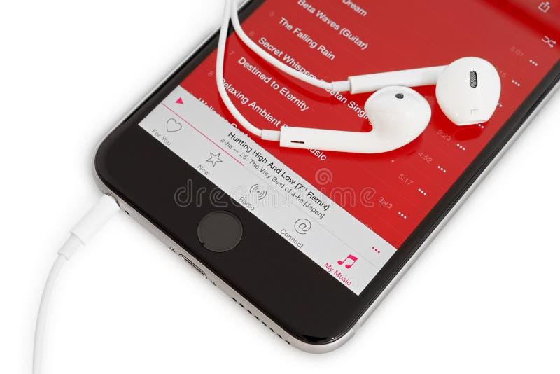 Apple musik arkivfoton