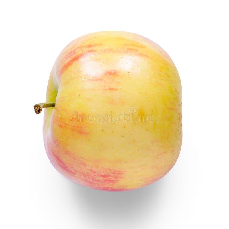 Apple na białym tła odosobnieniu obrazy stock