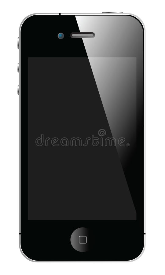APPLE NOVO IPHONE 4S ilustração stock