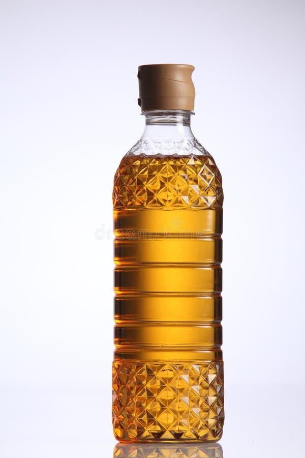 Apple oligo syrup. Bottle of the apple oligo syrup on the white background royalty free stock photo