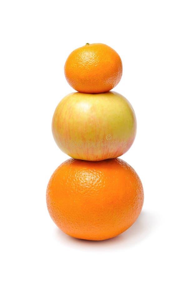 Download Apple Orange Mandarin Fruits Stock Images - Image: 22461054