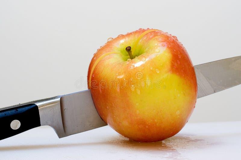 Apple orgânico fresco fotos de stock