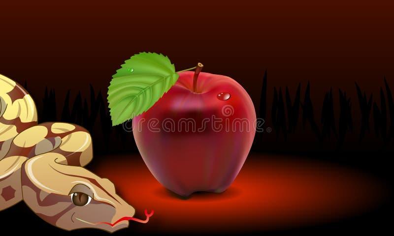 Apple orm stock illustrationer