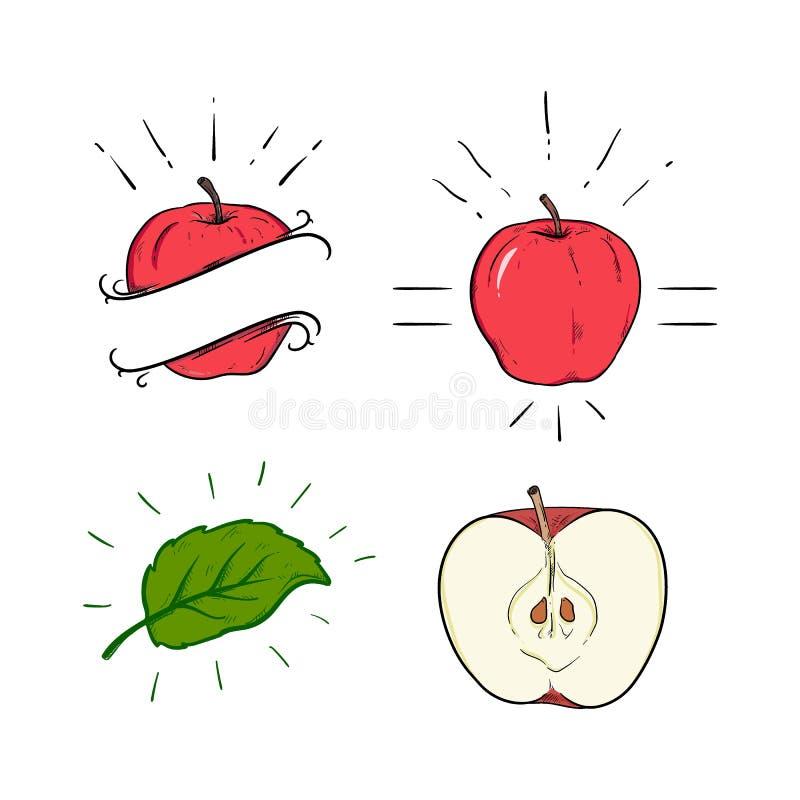 Apple pack illustration logo vector illustration
