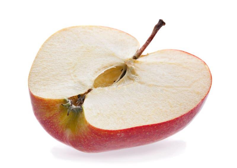 Apple peça imagem de stock royalty free