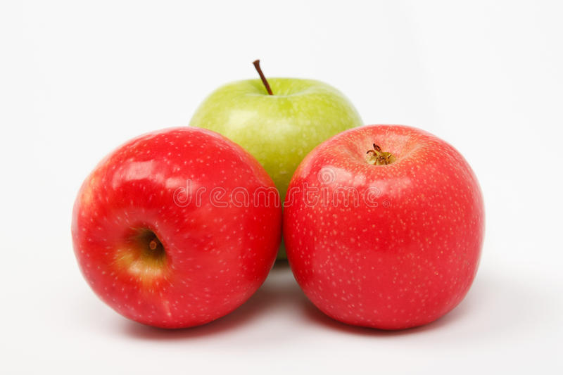 Download Apple And Peach Composition Stock Photo - Image: 27456580