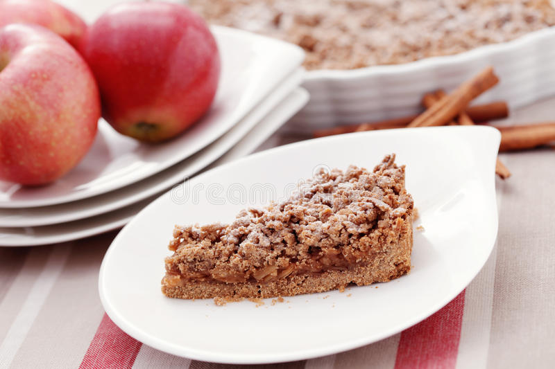 Download Apple pie stock photo. Image of slice, fresh, delicious - 21684552