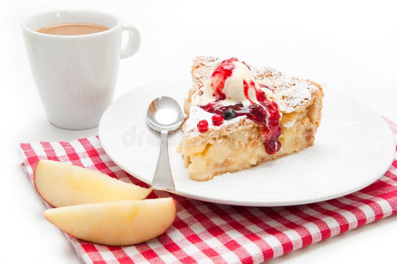 Apple pie royaltyfri bild
