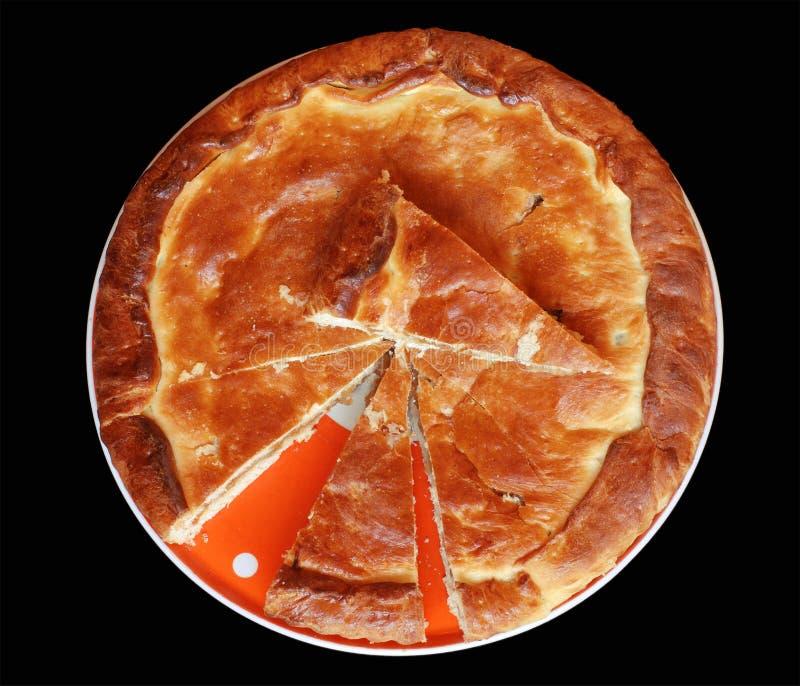 Download Apple pie stock photo. Image of eating, plate, segmentation - 4885474