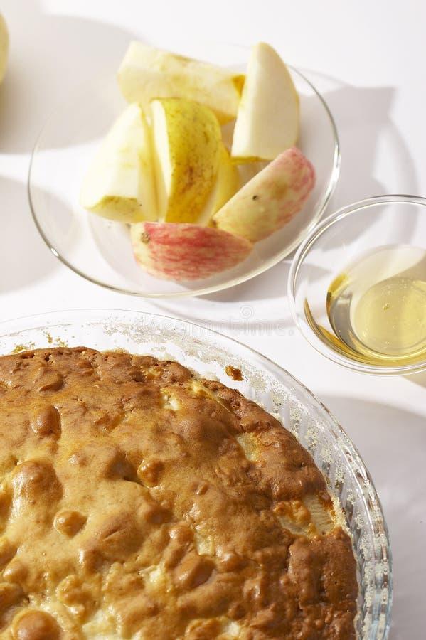 Download Apple-pie stock image. Image of still, cake, sponge, white - 959021