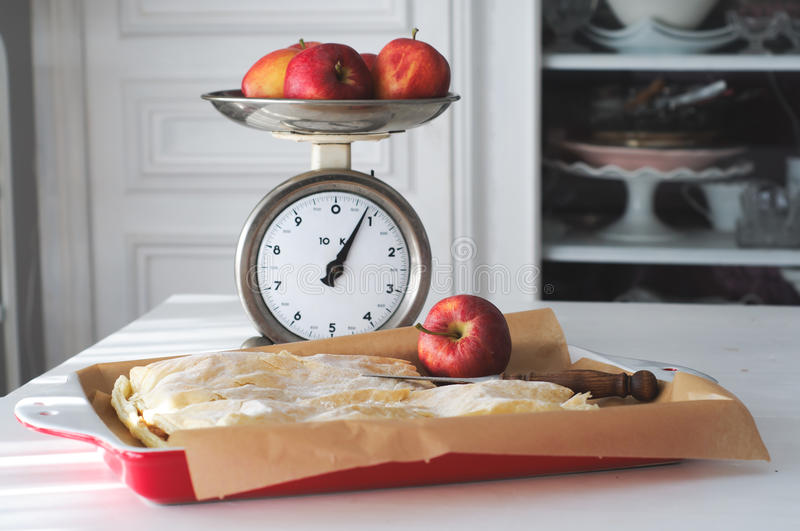 Apple Pie - Country Home Interior royalty free stock image