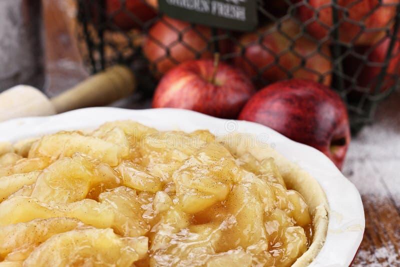 Apple Pie Filling royalty free stock photos