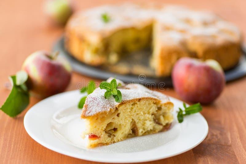 Download Apple pie stock image. Image of paper, biscuit, flan - 33499895
