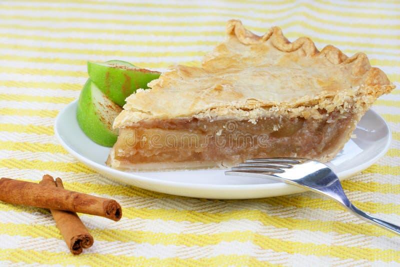 Apple Pie Slice stock images