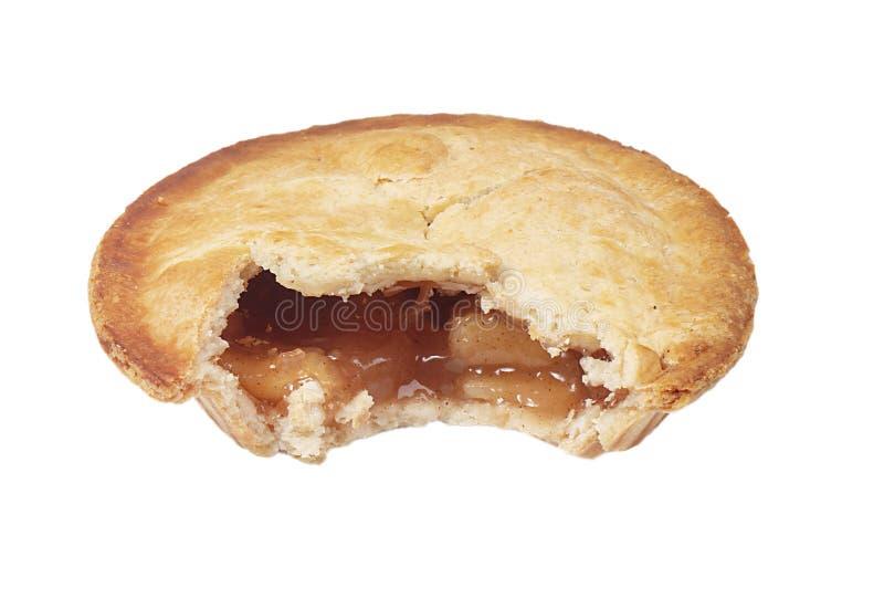 Apple Pie teilweise gegessen stockfotografie