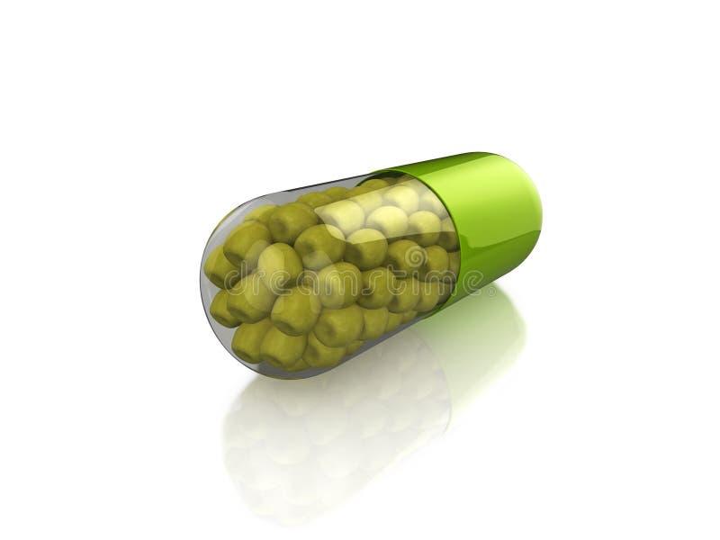 Download Apple Pill stock illustration. Illustration of fruit, closeup - 9009990