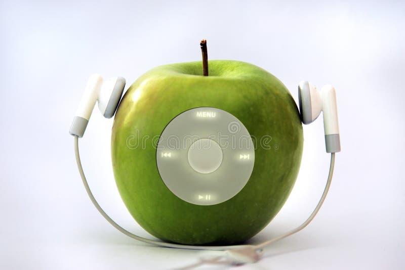 Apple player stock image
