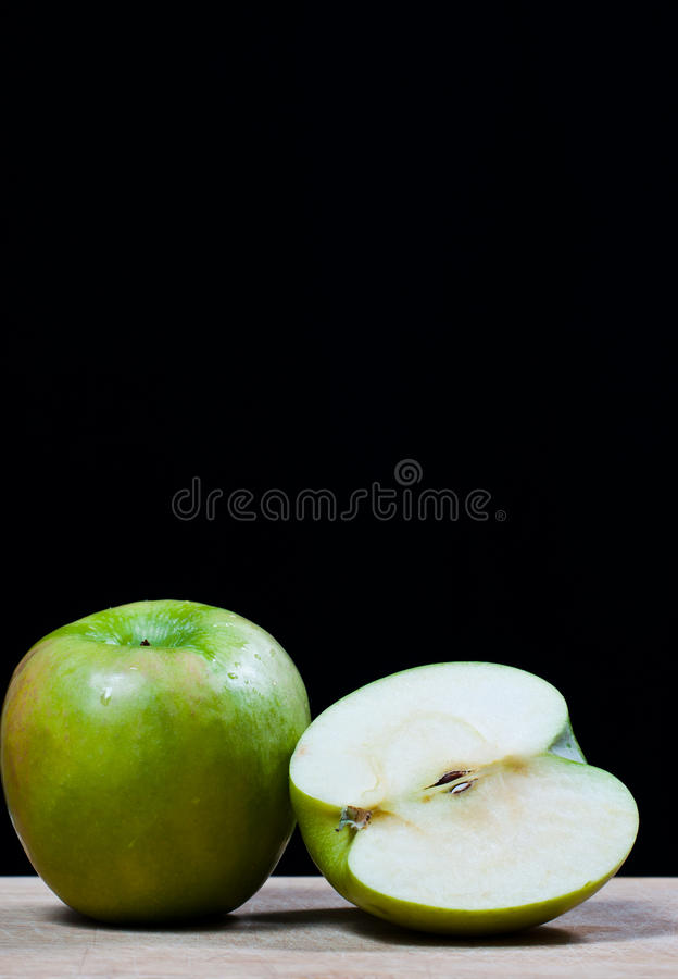 Apple portent des fruits. photo stock