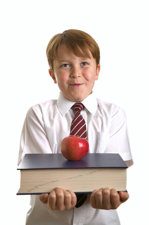 Apple pour le professeur image stock