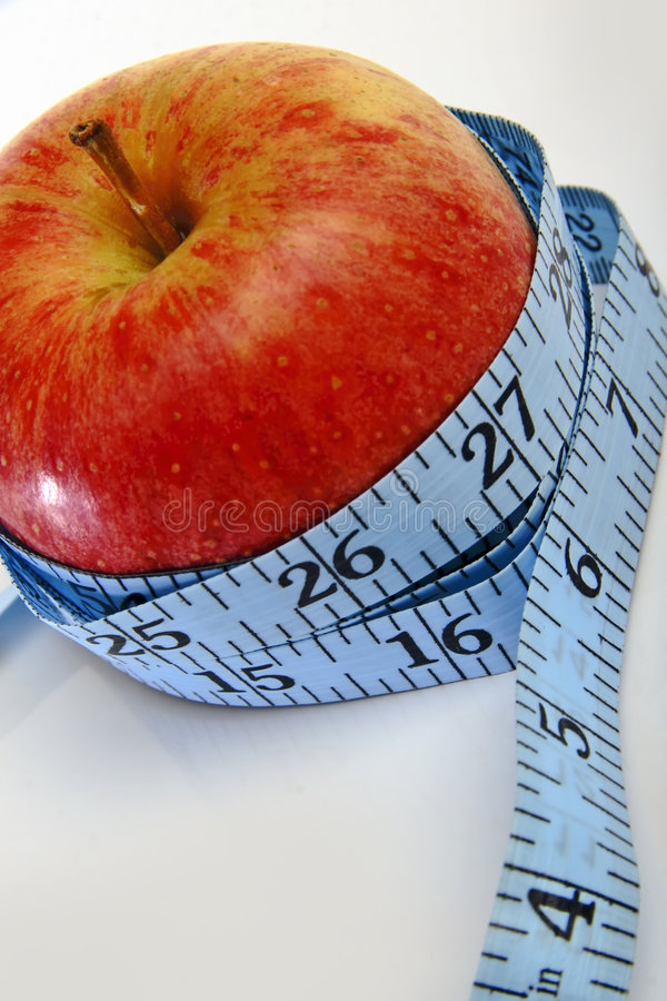 Download An Apple, Promoting Weightloss Royalty Free Stock Image - Image: 2277566