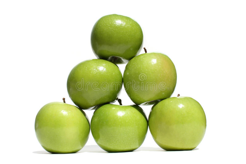 Apple Pyramid Stock Photo