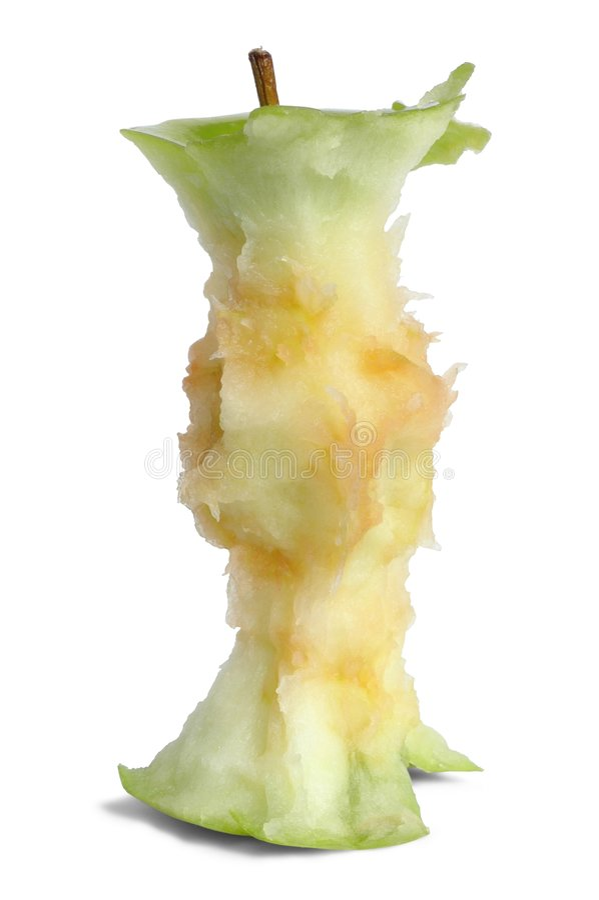 apple rdzenia zdjęcia stock