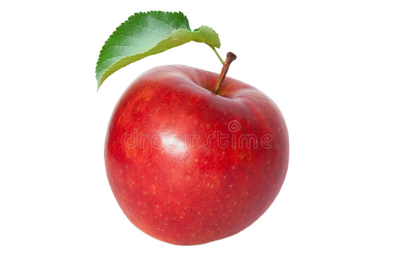 Apple. Red apple isolated on the white background
