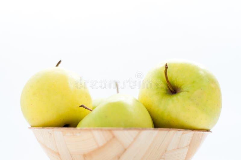 Apple rollen stockfotos