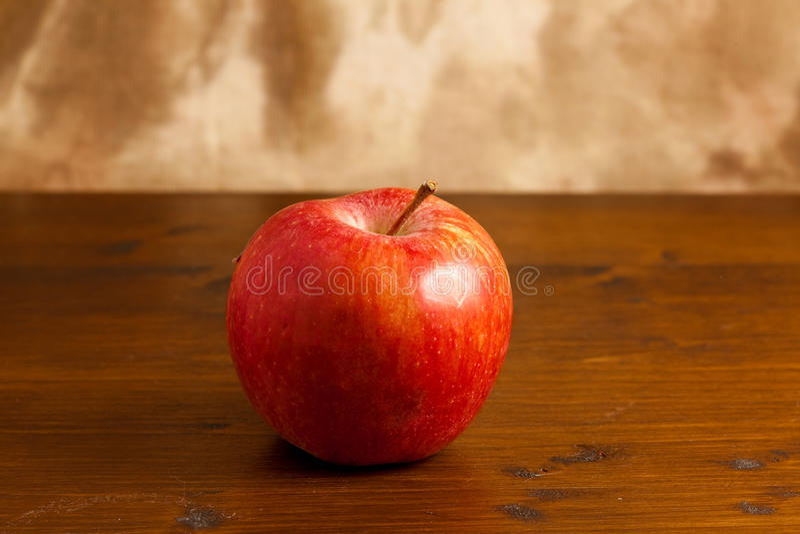 Apple rosso fotografie stock