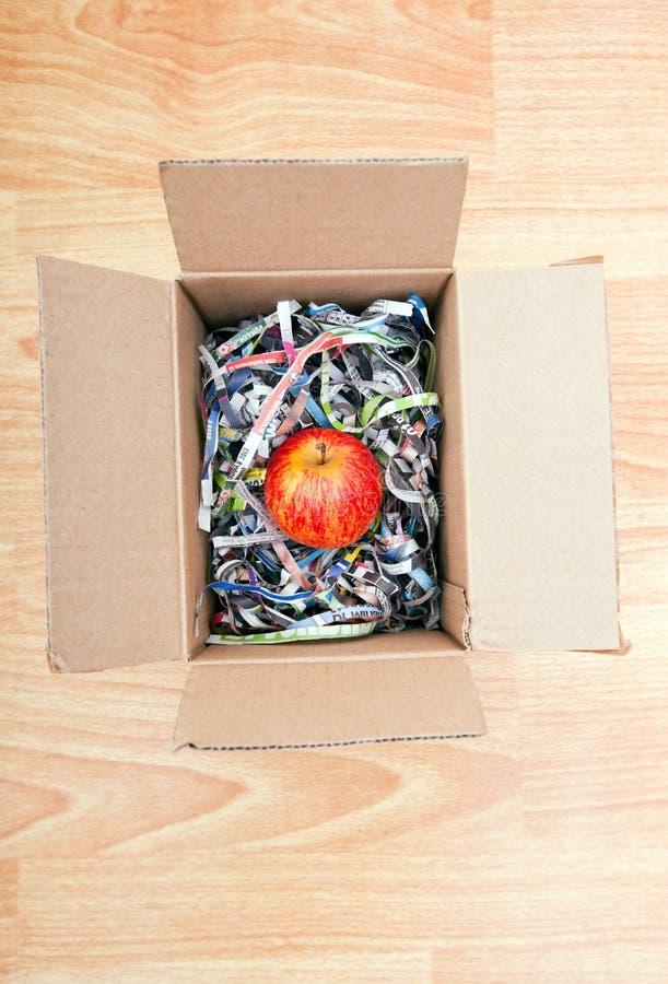 Apple s'est enveloppé dans une boîte photos libres de droits