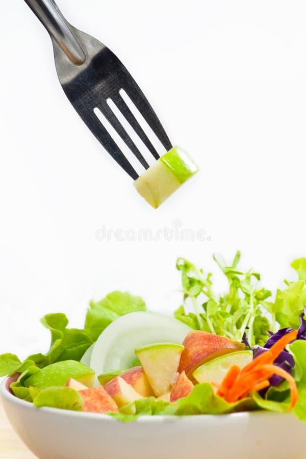 Apple Salad stock image