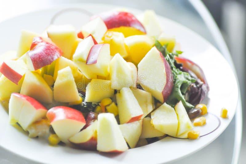 Apple salad,salad,apple stock photos