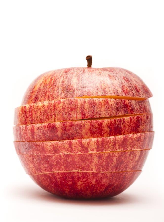 Apple-Scheiben lizenzfreies stockfoto