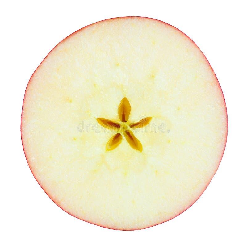 Apple schneiden lizenzfreies stockfoto