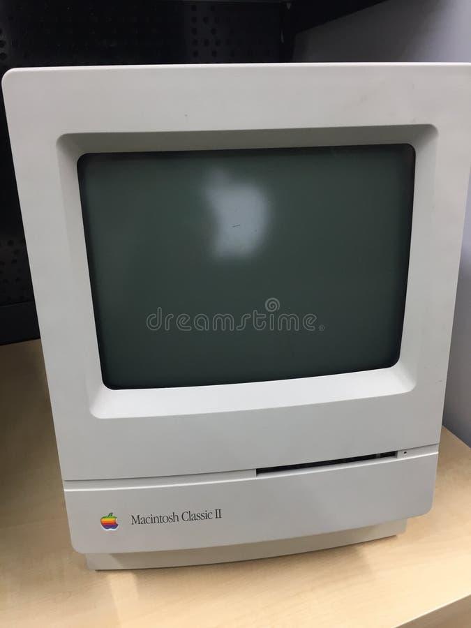 Apple-Schrijver uit de klassieke oudheid II van computermacintosh stock afbeeldingen