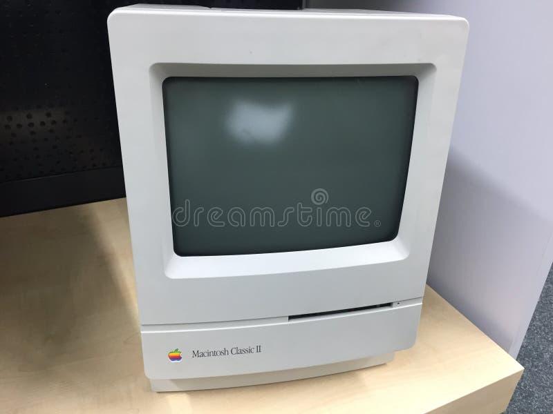 Apple-Schrijver uit de klassieke oudheid II van computermacintosh royalty-vrije stock foto
