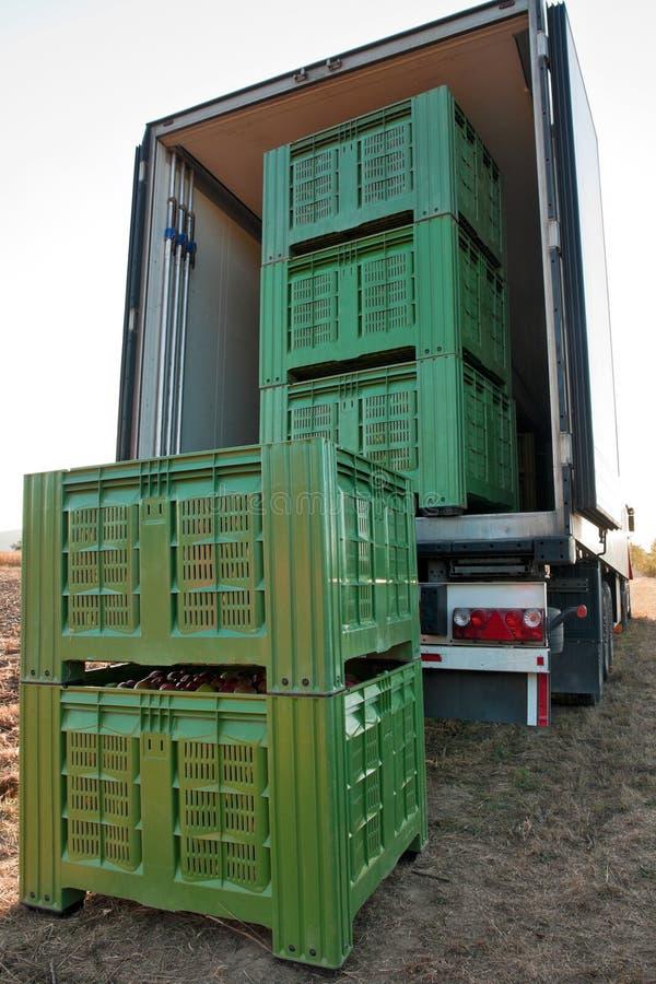 Apple shipping stock photo