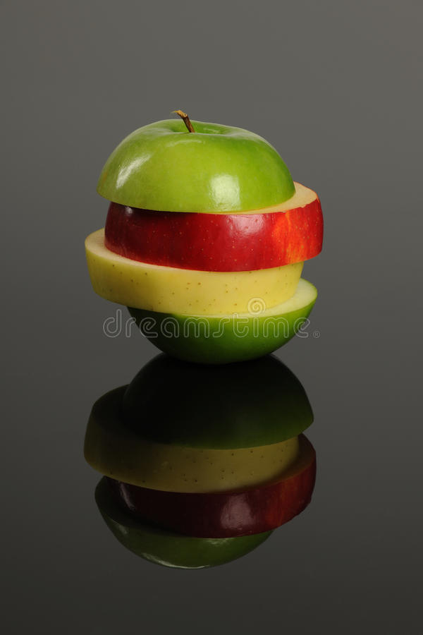 Free Apple Slices Grouped Stock Image - 18223861