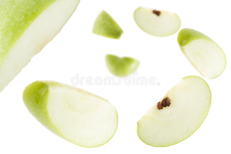 Apple Slices II stock photo