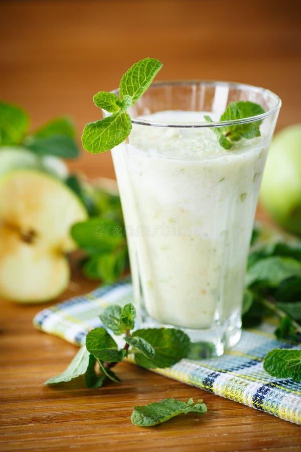 Apple smoothie stock foto's