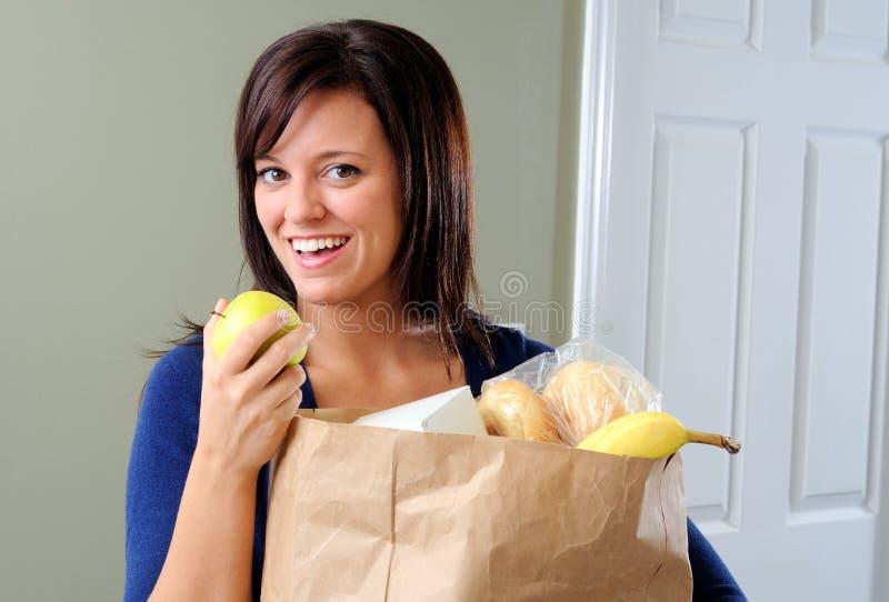 apple snack στοκ εικόνες