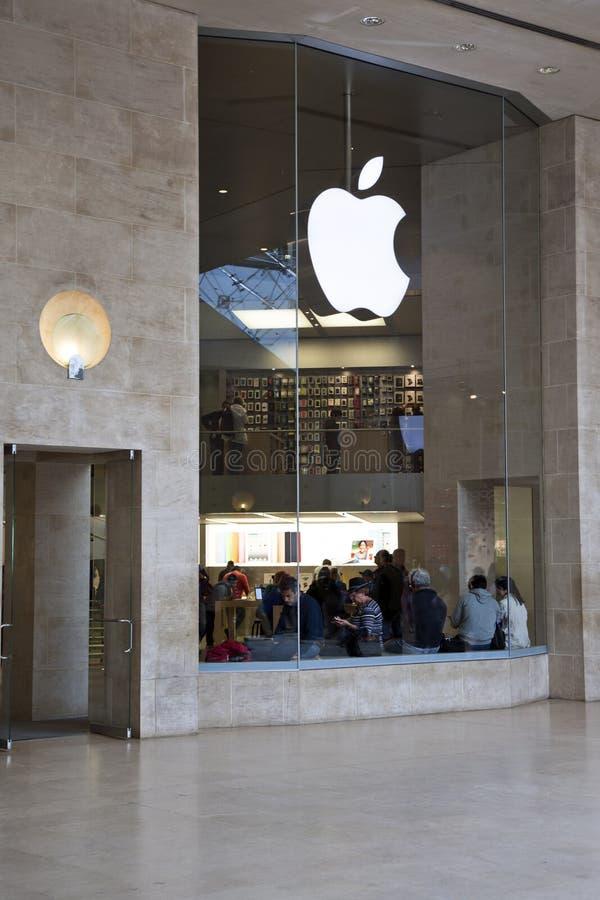 Apple-Speicherluftschlitz lizenzfreies stockfoto