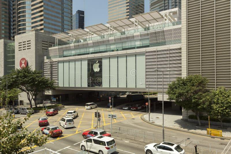 Apple speichern in Hong Kong-Insel lizenzfreie stockbilder