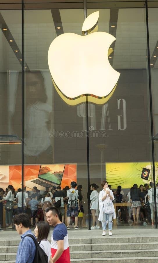 Apple speichern in Shanghai, China stockfotografie